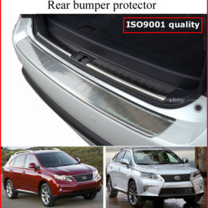 RX RX450h RX350 F Sport rear bumper protector, rear trunk