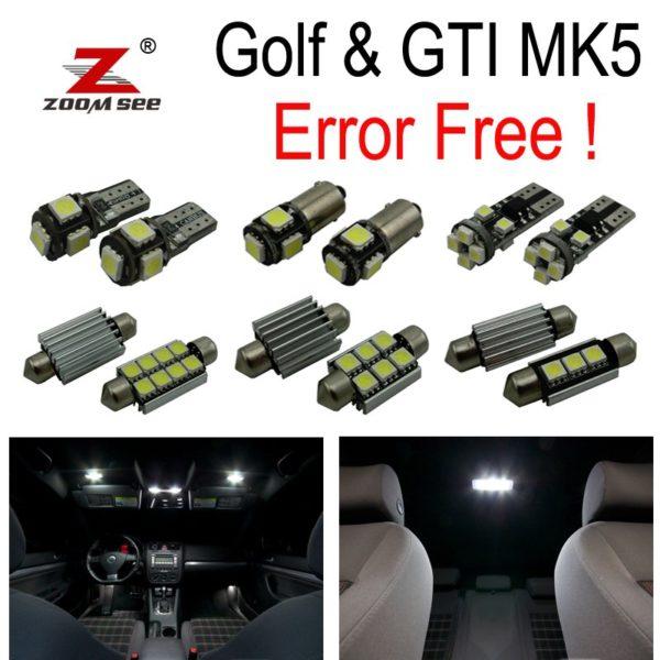 GTI Rabbit VW Golf 5 MK5 MKV map dome LED interior light