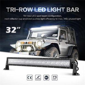 LED Light Bar Spot Flood Combo Beam Offroad