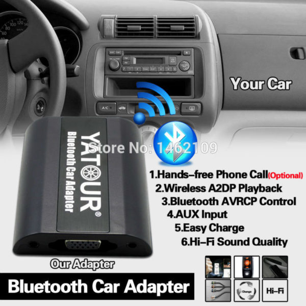 Bluetooth Car Adapter Digital Music CD Changer For BMW M3 M5