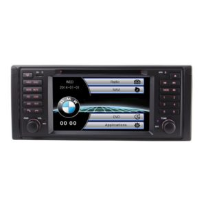 7 inch 1 Din Car DVD Player GPS Navigation System For BMW