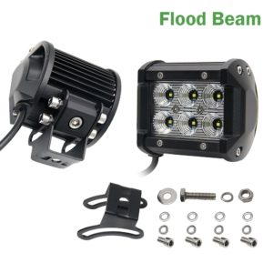 Offroad Led Light Bar 18W Led Work Light Bar Spot Flood