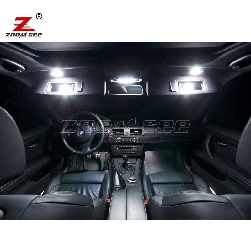 17x LED License Plate Lamp + Interior Lights Bulb Kit Best