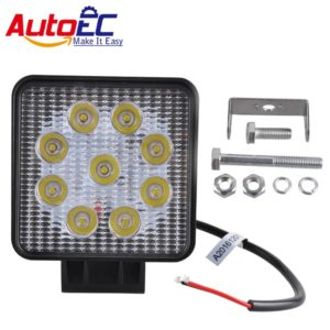 LED Light 27W Offroad 4x4 led Flood Spot Beam 6000K