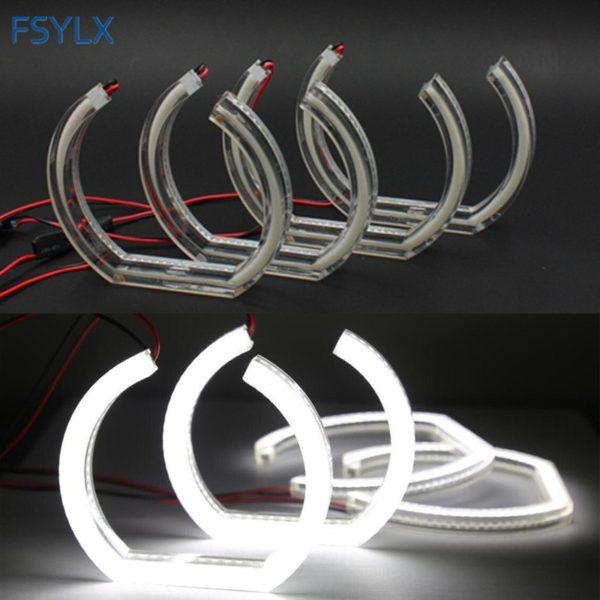 Crystal LED Angel eyes Headlight For BMW E92 Coupe 07-10