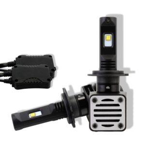 H7 80W Car LED Headlight Bulbs 12000LM