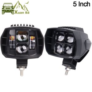 2Pcs 5 inch 35W Led Work Light High-Low Beam