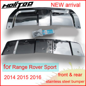 Front&rear bumper sill cover, skid plate for Range Rover Sport, 2pcs