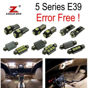 19pcs LED bulb Interior Light Kit for BMW E39