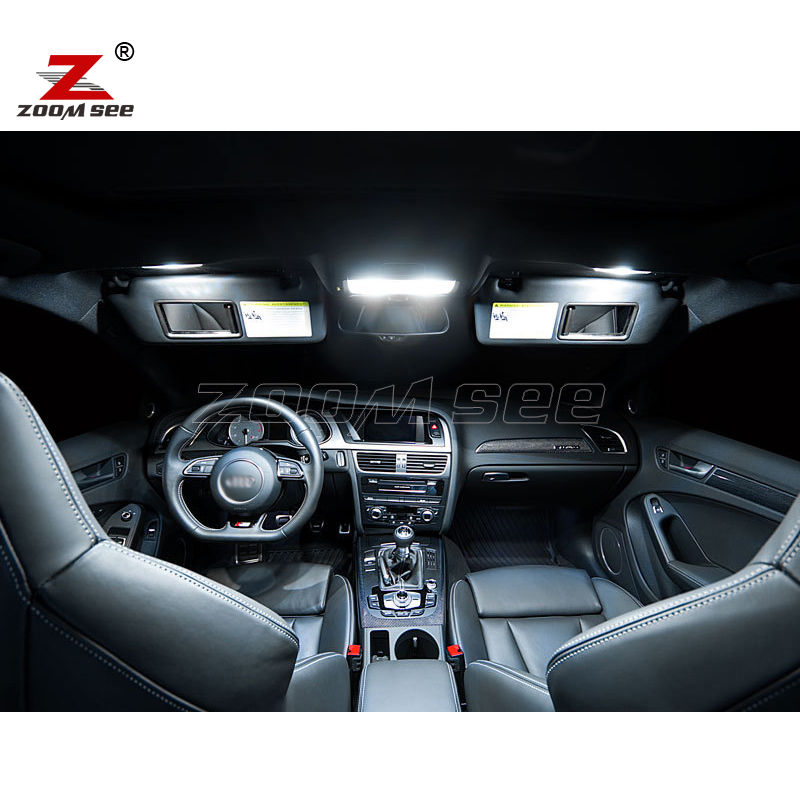 LED Bulb For Audi A4 S4 RS4 B8 Quattro Sedan Interior Best