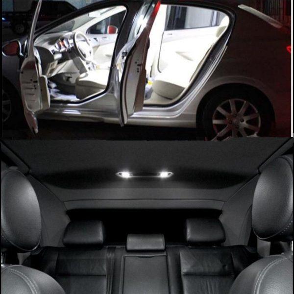 19pcs per set excellent canbus for Audi A4 S4 B8 Avant LED Interior dome