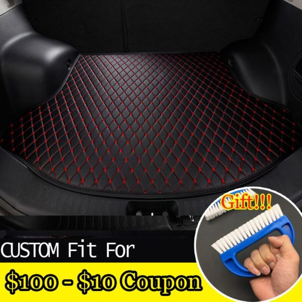 free shipping car trunk mat for BMW 3/4/5/7