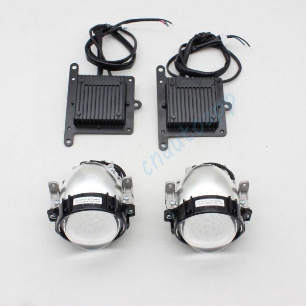 Car LED Headlights Auto Lens headlight 90W Hi/Lo Beam 3.0 Inches
