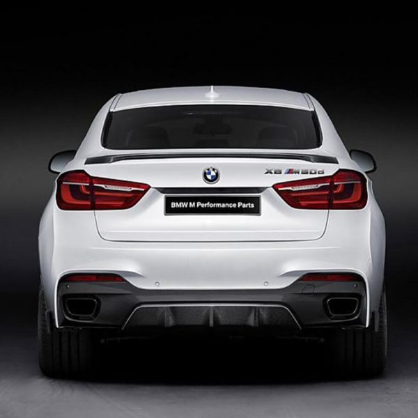 F16 X6 Modified M-Perform Style Carbon Fiber Rear Luggage