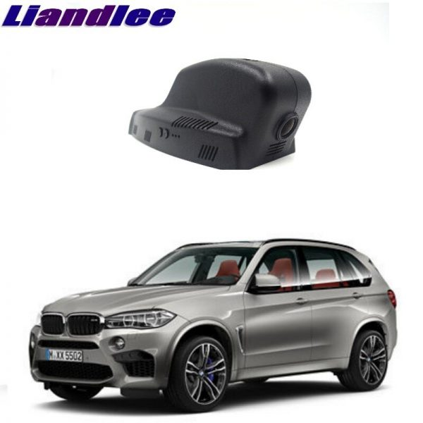 Liandlee For BMW X5 E70 MK2 2006~2013 Car Road Record WiFi DVR Dash Camera Driving Video Recorder