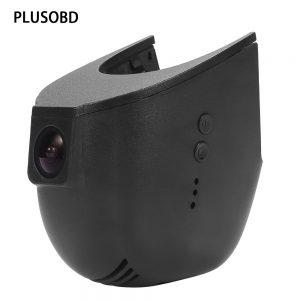 PLUSOBD Car Camera Video Recorder Dash Cam Wifi For Audi S5 S7 S8 A1 A3 A4 A5 A6 A7 Q3 Q5 In With App Android/IOS