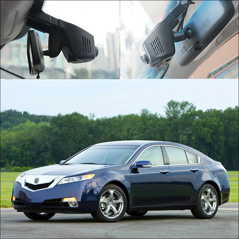 Acura TL TLX Dash Cam Wide Angle Hidden Installation Best