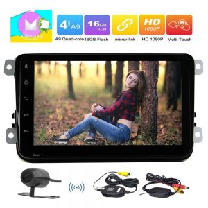 Camera+Android 6.0 Car no-DVD Player Car Stereo In Dash GPS Navigation Car PC Support AM FM Radio/Bluetooth/WiFi/OBD2/Mirror link