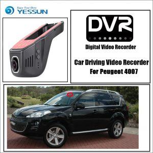 YESSUN Car DVR Driving Video Recorder Mini Control APP Wifi Camera for Peugeot 4007 Registrator Dash Cam Night Vision