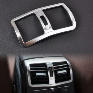 Chrome Armrest Box Rear Air Condition Vent Cover Mercedes Benz W212 E Class