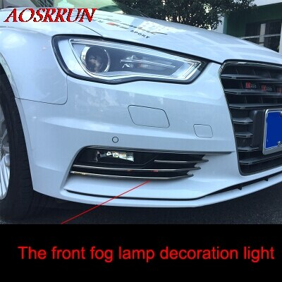 Audi A3 sedan 2013-2016 front fog light trim frame