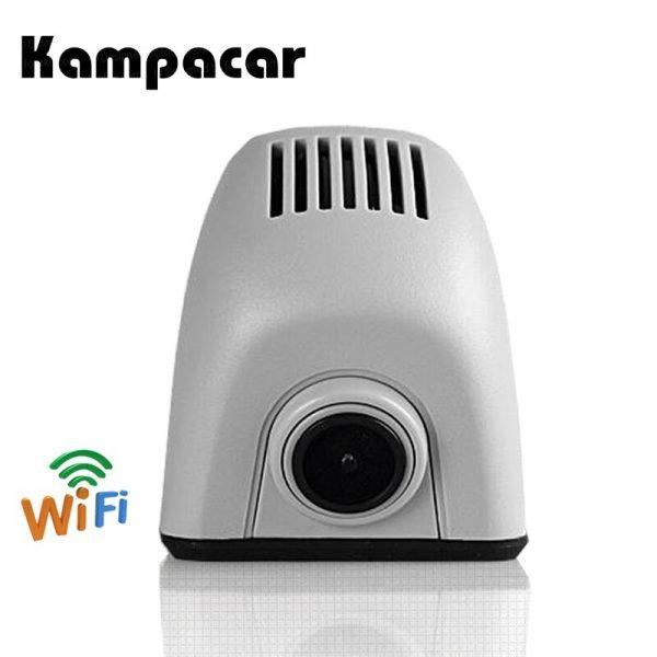 Kampacar Hidden WiFi Recorder Car Dvr Dash Cam Camera For Audi A4 A4L B7 A6 4F C6 2006 2007 B8 Q7 2008 A5 2009 2010 A3 2011 Dvrs