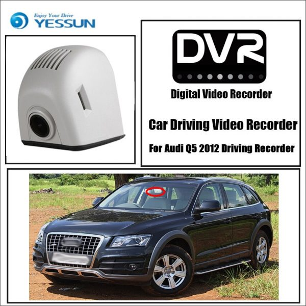 Audi Q5 2012 Driving Recorder Car Wifi Dvr Mini Camera Novatek