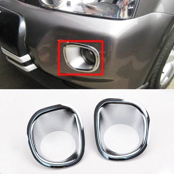 Nissan X-Trail ABS Car Front Fog Light Lamp Foglights Cover