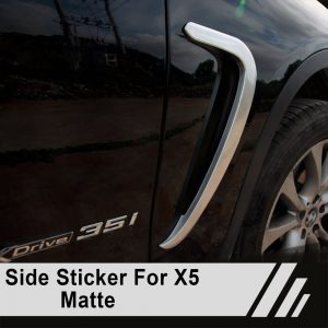 Wing Cover Sticker For BMW X5 F15 2014 - 2016 Car styling