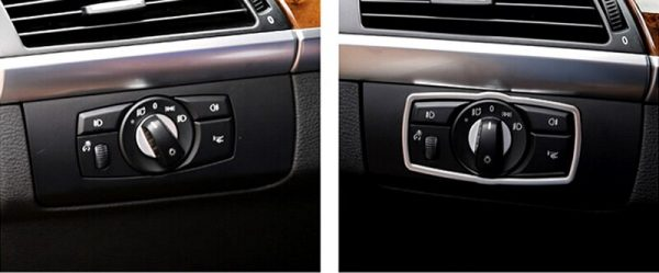 Button Cover Trim For BMW X6 E71 2009-2014
