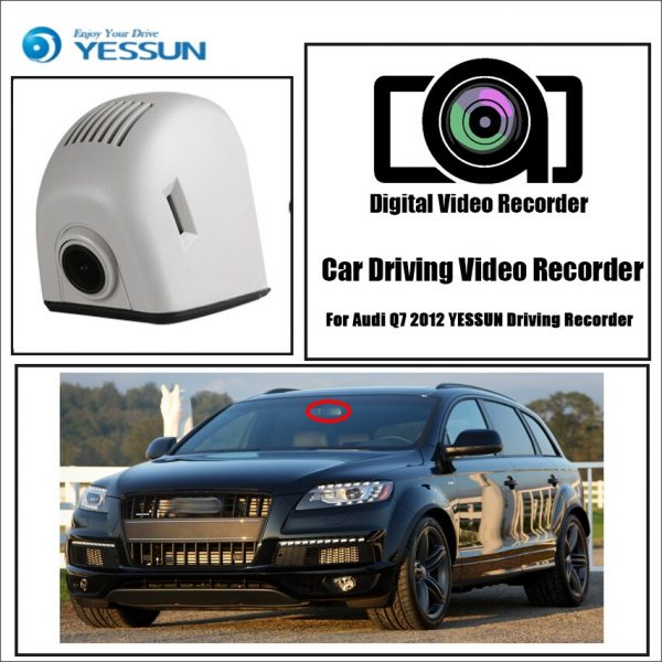 YESSUN for Audi Q7 2012 Driving Recorder Car Dvr Mini Wifi Camera Full Car Dash Cam Video Recorder Original Style