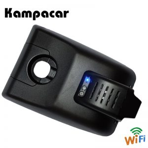 Kampacar Mini Dash Cam Wifi Front Mirror Rear View Camera Video Recorder For Toyota Camry XV70 XV 2018 Car Dvrs With Two Cameras