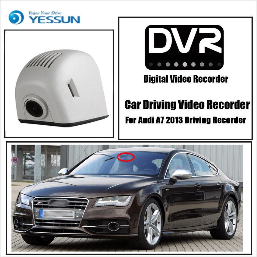 Audi A7 4G8 S7 RS7 2010~2017 Car DVR Wifi Video Recorder