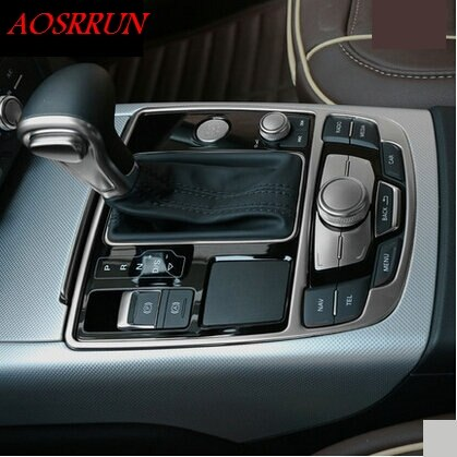 Light strip gear box gear Panel for audi a3 a4 a5 a6 a7 q5