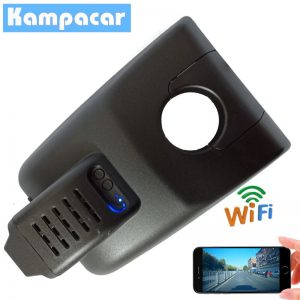 Kampacar HD 1080P Car DVR Wifi Video Recorder Dash Cam Camera For Toyota Highlander 2018 2019 Auto Car Registrars Wifi Dvrs