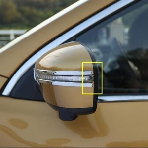 Nissan Qashqai J11 2014 - 2018 Rear View Rubbing Strip Cover Trim