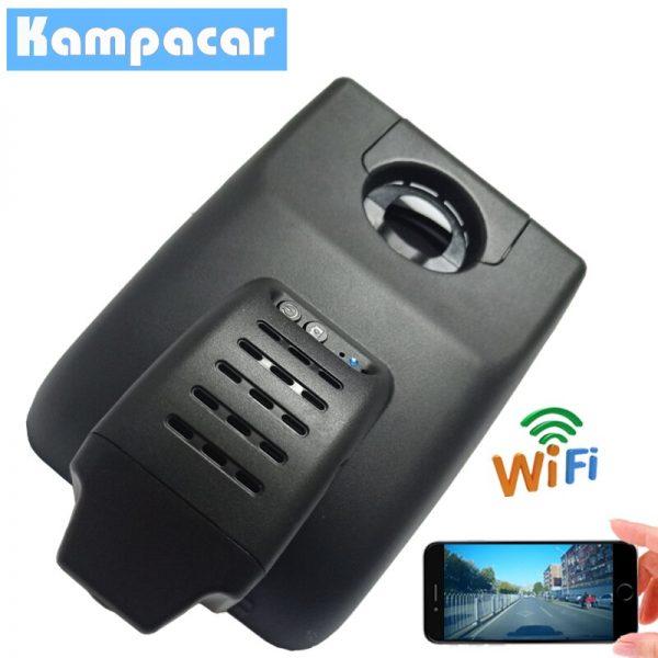Kampacar HD 1080P Car Wifi Dvr Video Recorder For Toyota Camry V70 XV XV70 2018 Dual Lens Dash Cam Car DVRs With Two Cameras