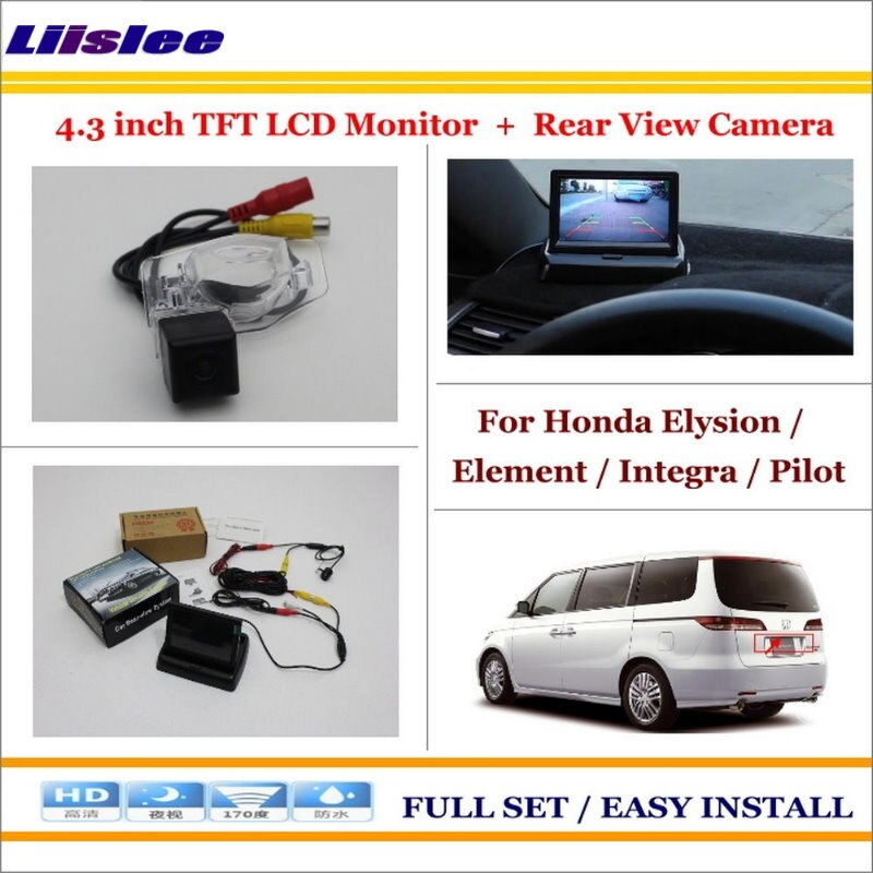 "Honda Elysion / Element / Integra Rear Camera + 4.3"" LCD"