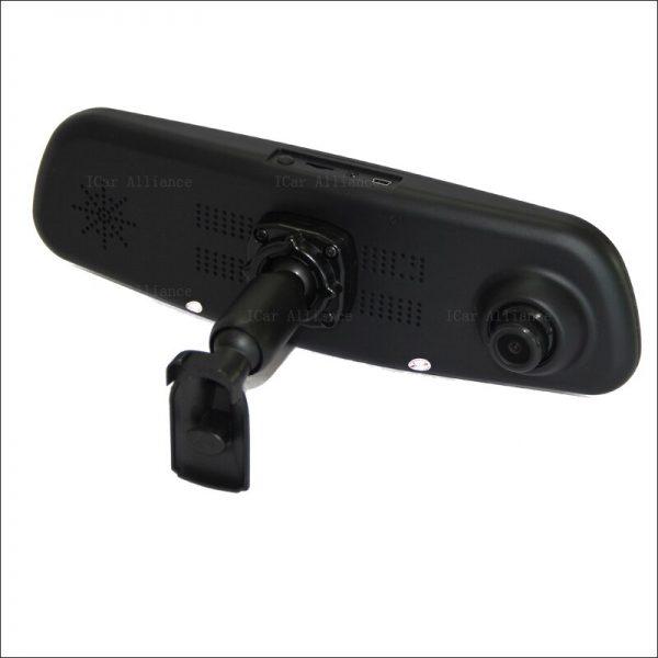 BigBigRoad For honda civic odyssey CR-Z Insight Car Mirror Camera DVR Blue Screen Video Recorder Dash Cam with Original Bracket