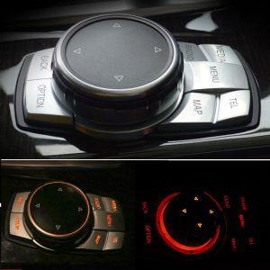 BMW 7 Series Multi-Media Button Cover Trim