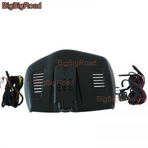 BigBigRoad For Ford Mondeo 2013 2015 High configuration Car Video Recorder Wifi DVR Dash Cam Dual Cameras lens