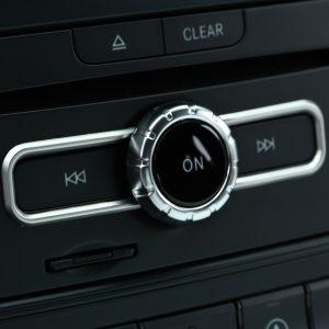 Multimedia Button Switch Frame Trim for Mercedes Benz CLA GLA A/B Class