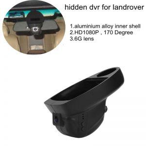 PLUSOBD Wifi Hidden Dash Cam Car DVR Recorder 1080P 170 For Land Rover/(Jaguar XF XJl) low specification G-sensor Night Vision