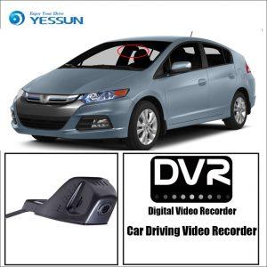 YESSUN for Honda Insight Car Driving Video Recorder DVR Mini Control APP Wifi Camera Registrator Dash Cam Original Style