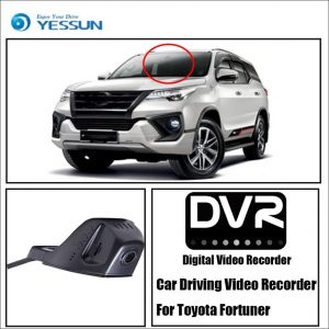 YESSUN Car DVR Digital Video Recorder HD 1080P for Toyota Fortuner Front Camera Dash Not Reverse Parking Camera