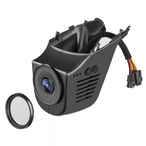 PLUSOBD Wifi Car Camera Video Recorder For Tesla X2.0 Hidden Install Dash Cam 1080P 170 Degree NT96655 App Control 6G Lens H.264