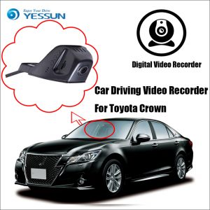 YESSUN Car DVR Digital Video Recorder - Front Camera Dash HD 1080P For Toyota Crown Not Reverse Parking Camera