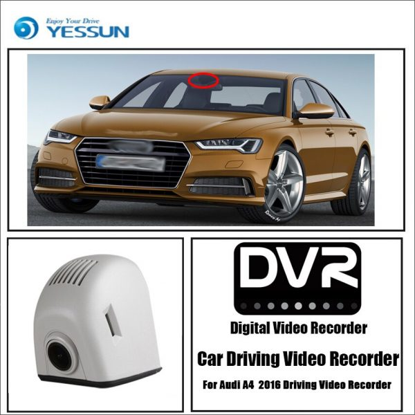 Audi A4 A5 A6 A7 Q5 2016 Driving Video Recorder Car Dvr Mini Wifi