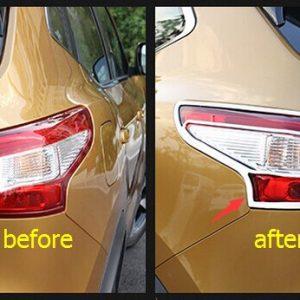 Nissan Qashqai J11 2014-2016 Chrome Light Lamp Molding Cover Trim