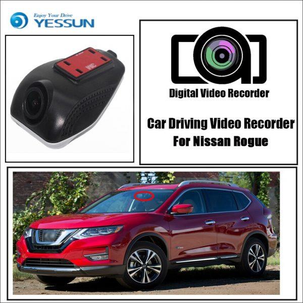 YESSUN for Nissan Rogue Car Driving Video Recorder Wifi DVR Mini Camera Novatek 96658 FHD 1080P Dash Cam Night Vision